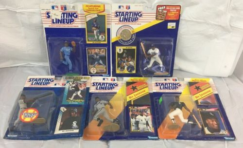BO JACKSON Starting Lineup Lot Memorabilia Collection Rare MLB