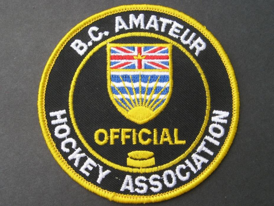 B.C. AMATEUR HOCKEY ASSOCIATION