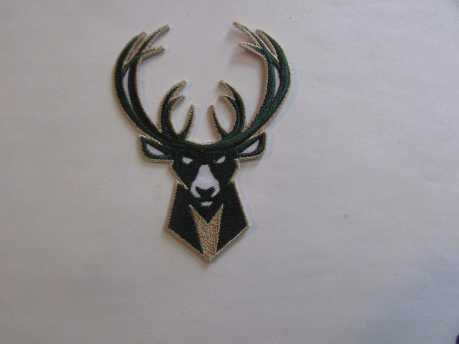 Milwaukee Bucks Patch - Iron On/Sew On