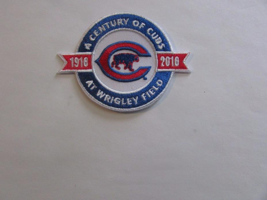 Chicago Cubs Patch - Iron On/Sew On (#1)