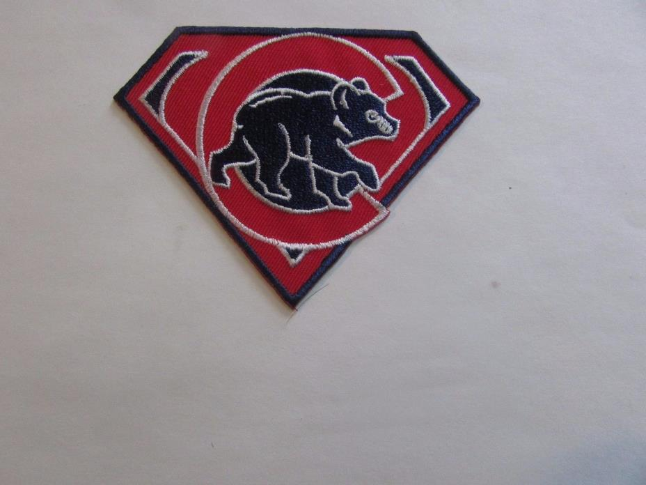 Chicago Cubs Patch - Iron On/Sew On (#2)
