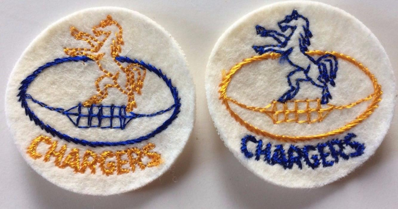 1960's San Diego Chargers NFL Football Vtg 2