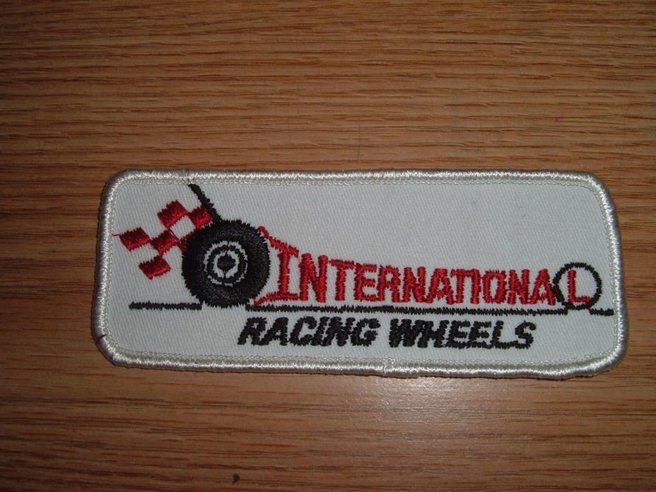 VINTAGE INTERNATIONAL RACING WHEELS (RACING) PATCH