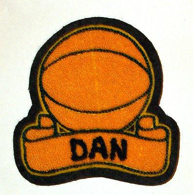 Vintage Basketball Patch - DAN