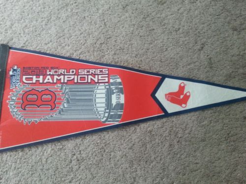 MLB Boston Red Sox 2013 World Champions Trophy Pennant