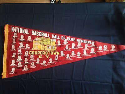 1957 Baseball Hall of Fame HOF Pennant  Joe McCarthy Induction New York Yankees