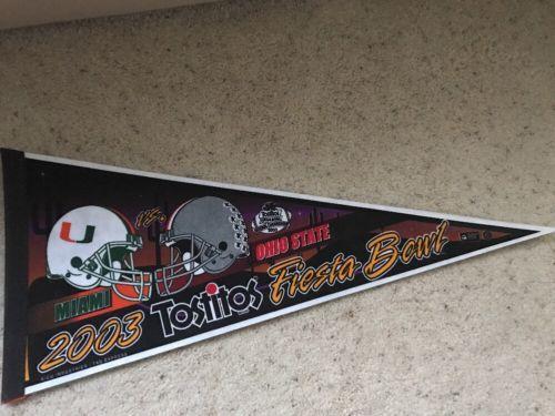 2003 Tostitos Fiesta Bowl Pennant
