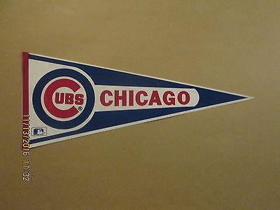MLB Chicago Cubs Circa 1980's Style #1 Baseball Pennant