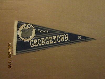 NCAA Georgetown Hoyas Vintage Circa 1990's Style#2 College Pennant