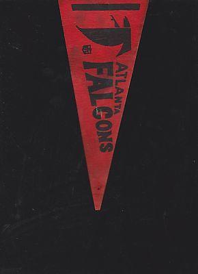 VINTAGE LATE 60'S/EARLY 70'S ATLANTA FALCONS MINI FELT PENNANT(4 X 9)
