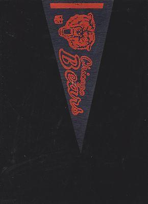 VINTAGE LATE 60'S/EARLY 70'S CHICAGO BEARS MINI FELT PENNANT(4 X 9)