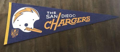 1967 San Diego Chargers Single Bar Pennant