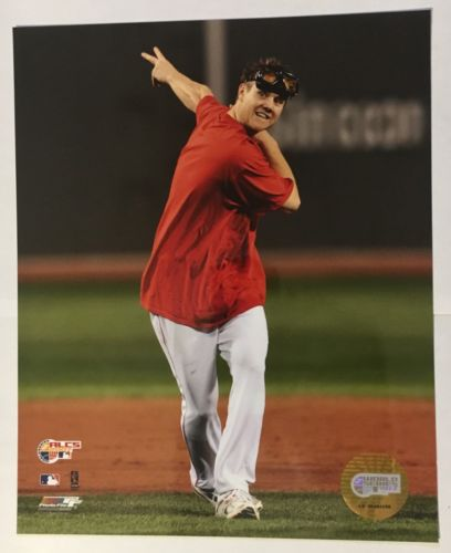 Jonathan Papelbon 8x10 Photo Boston Red Sox Unsigned World Series ALCS 2007