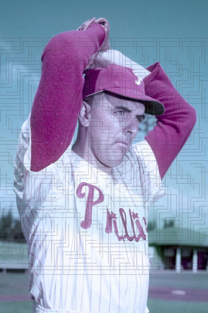Curt Simmons - 1956 Philadelphia Phillies - 4