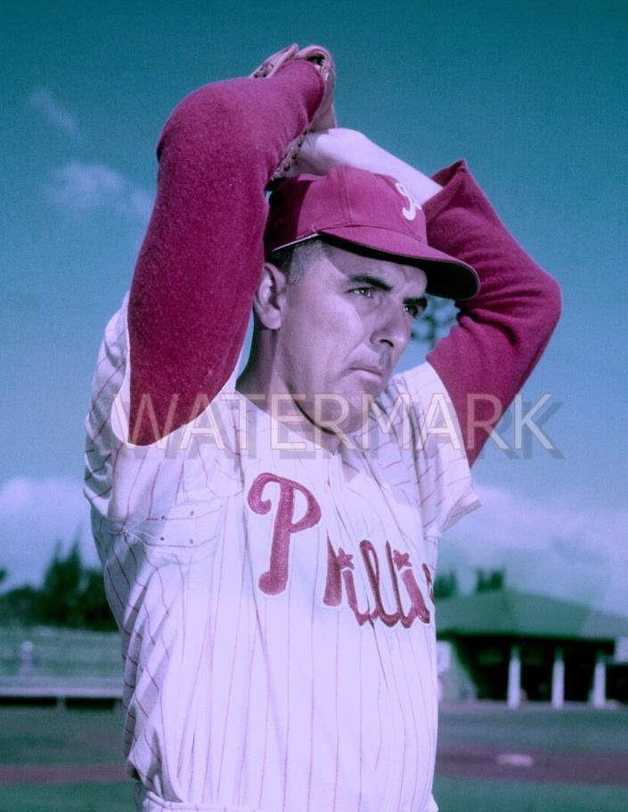 Curt Simmons - 1956 Philadelphia Phillies - 8.5