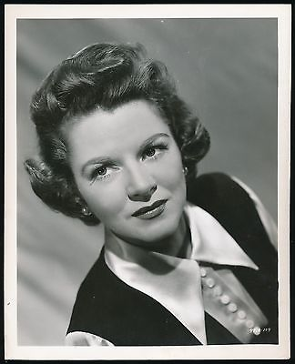 1948 THE BABE RUTH STORY Promotional Photo -Clare Trevor (as Mrs. Ruth) -*RARE*