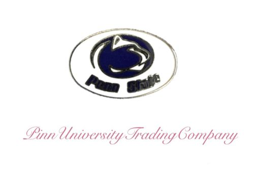 "PSU Penn State Nittany Lions Vintage Metal Lapel (Hat, Tie) Pin .85"" x .55"""