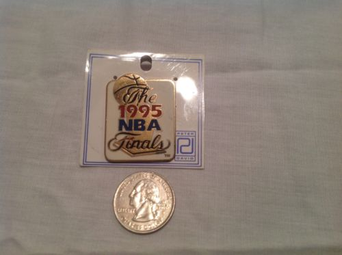 1995 NBA Finals lapel pin