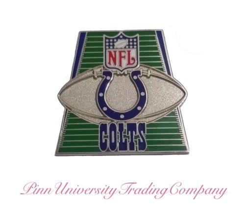 "Indianapolis Colts Vintage Metal Lapel (Hat, Tie) Pin  1.2"" x 1.1"""
