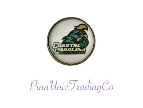 Coastal Carolina Chanticleers Metal Lapel (Hat, Tie) Pin .75