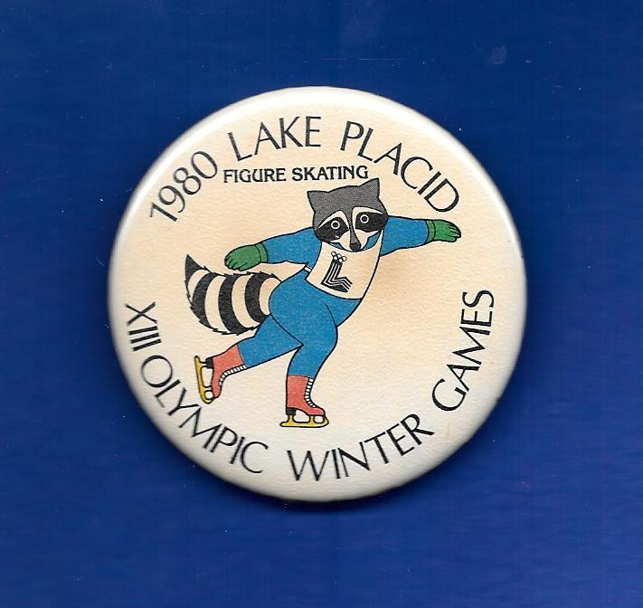 1980 Winter Olympics Roni Raccoon Lake Placid 2 1/4