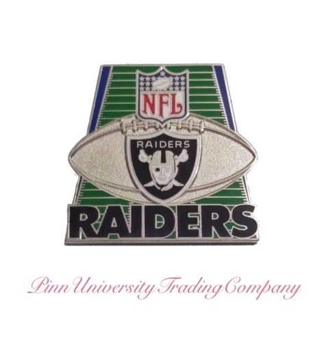 "Oakland Raiders Vintage Metal Lapel (Hat, Tie) Pin 1.25"""