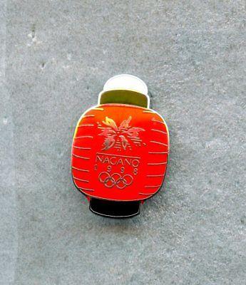 1998 Nagano XVIII OLYMPIC Winter Games Pin Enamel LOGO