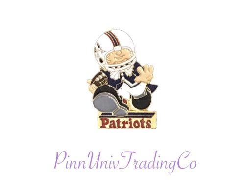 New England Patriots Vintage Metal Lapel (Hat, Tie) Pin 1.25