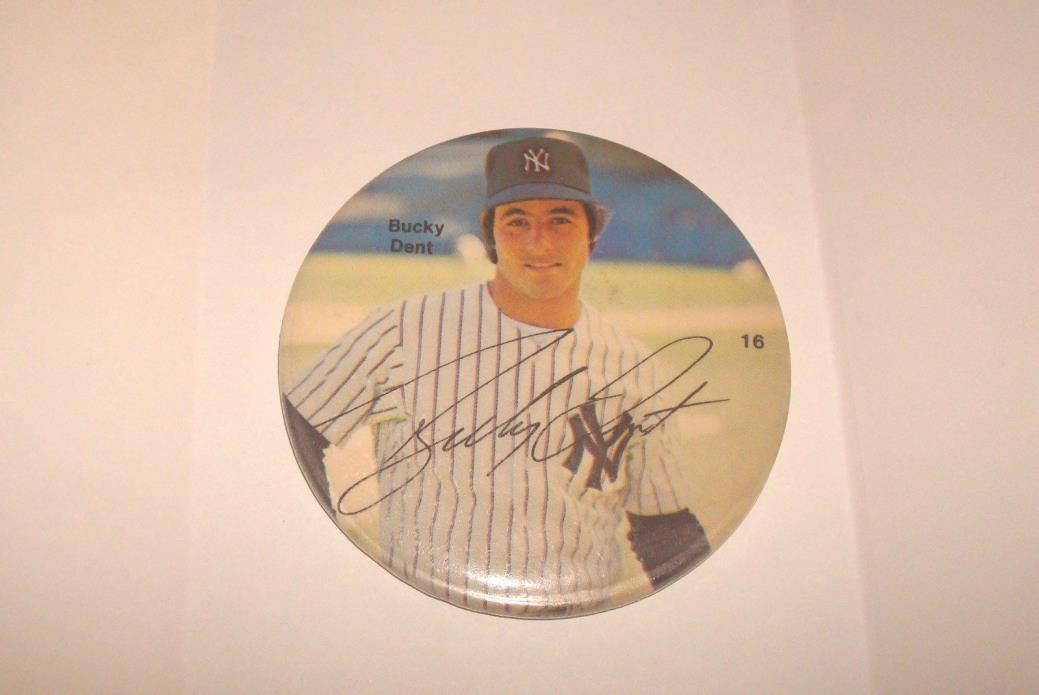 1978 Bucky Dent New York Yankees 3