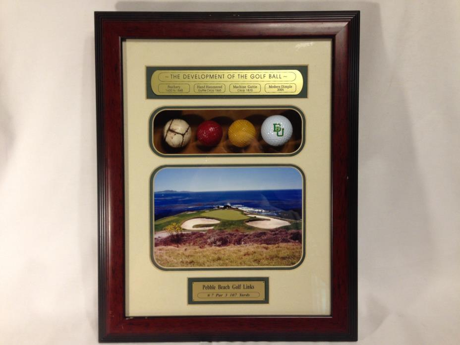 Development of the Golf Ball Wall Plaque All American with Certificate #081592