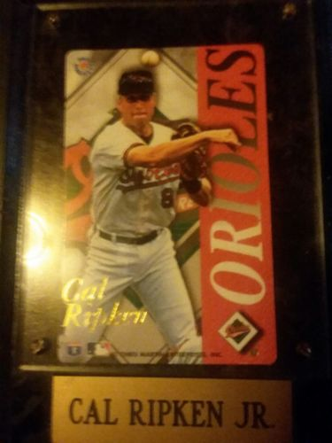 Cal Ripken jr wall plague