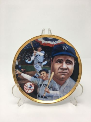 "Sports Impressions NY Yankees #3 Babe Ruth Called Shot 4"" Collector Plate"