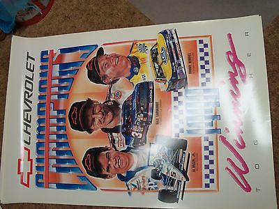 1990 Chevrolet Champions Winning Together Poster