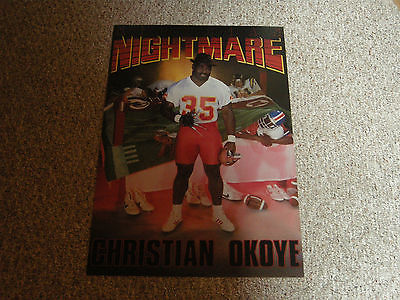 CHRISTIAN OKOYE KANSAS CITY CHIEFS