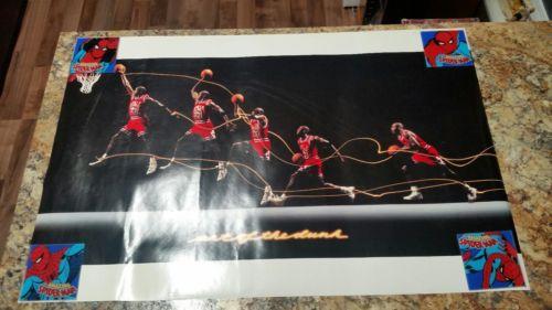 90's Michael Jordan NIKE Posters 34x23 -