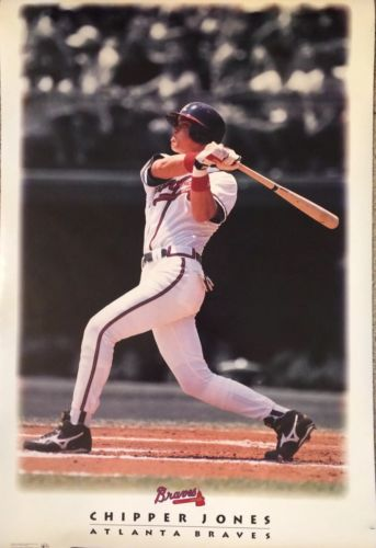 Chipper Jones - Atlanta Braves - 35