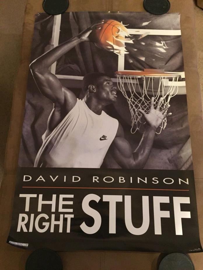 Vintage DAVID ROBINSON poster