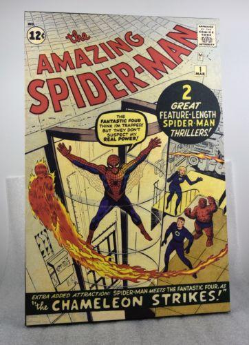 AMAZING SPIDER-MAN NO.1 COVER: SPIDER-MAN CANVAS ART PRINT