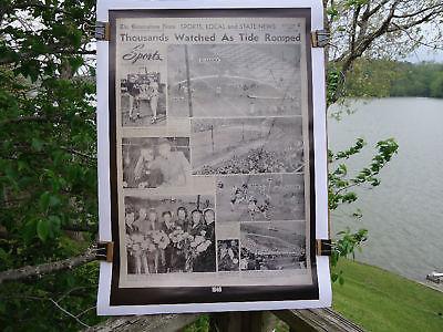 1948 COPY OF BIRMINGHAM NEWS SPORTS PAGE ALA - AUB