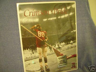 1993 LITHOGRAPH CRIMSON PRIDE.