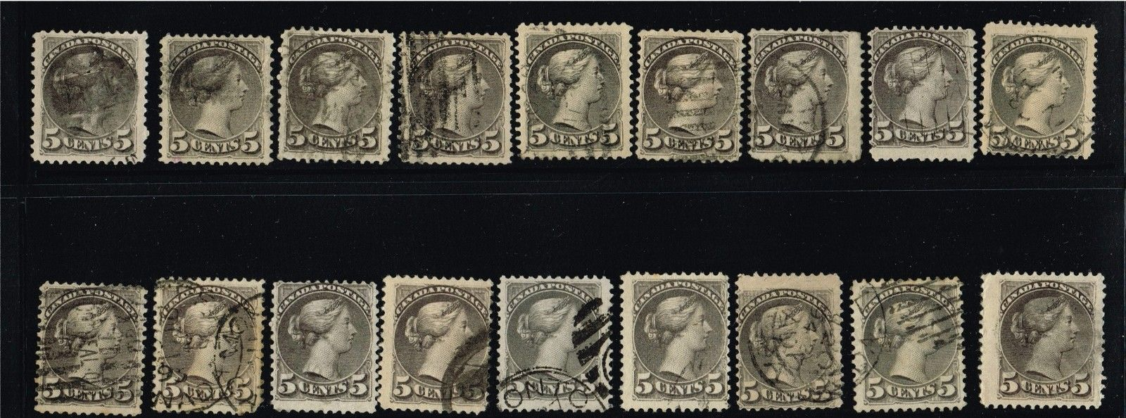CANADA SMALL QUEENS FINE 38  42   (FAY8