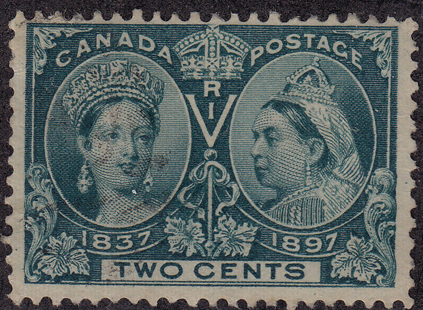 CANADA Used Scott # 52 Queen Victoria - very small thin (1 Stamp) -10