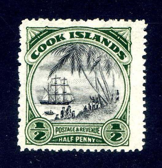 ** COOK ISLANDS * Landing of Captain Cook * Scott 84a * MNH **