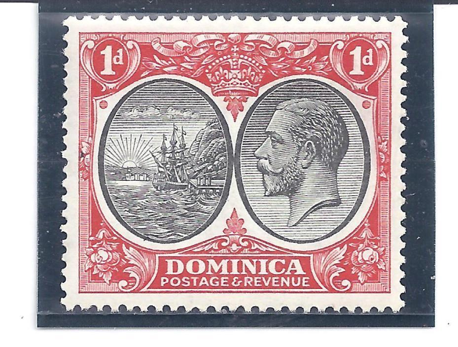 DOMINICA...# 67...1923... Mint  LH...SCV  $ 17
