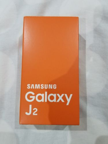 samsung galaxy j2 gold empty box