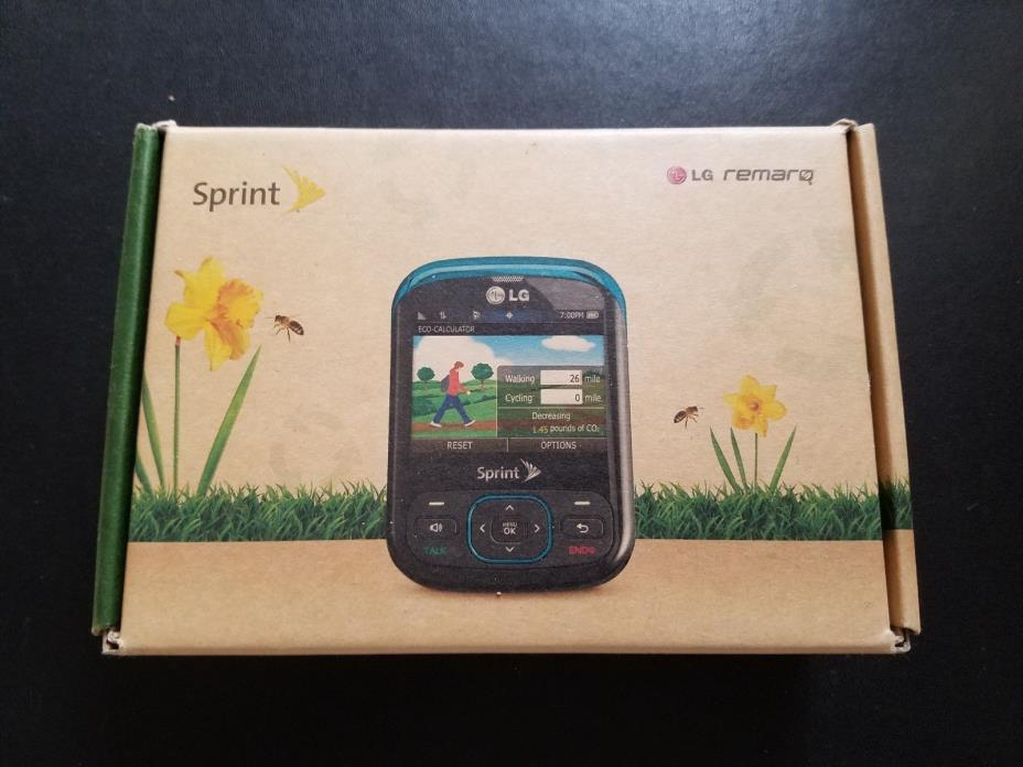 SPRINT    LG  REMAR PHONE