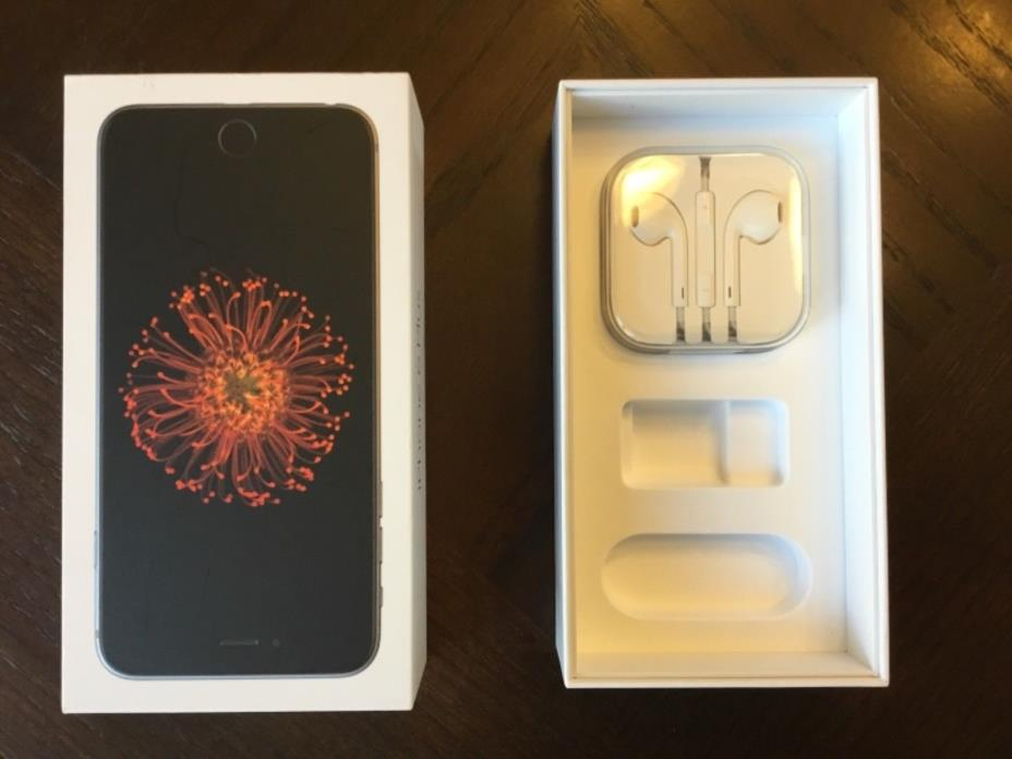 Empty Apple iPhone6 box 64GB BOX ONLY with earphones!