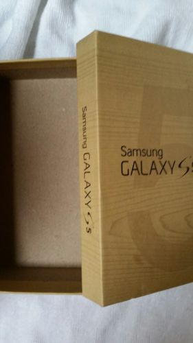 Samsung galaxy s5  box only