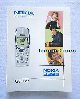 NOKIA 3395 Owner's Manual User Guide 158 Pages English Easy to Read