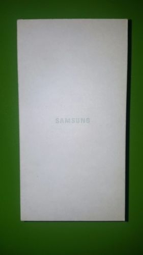 Samsung Galaxy Phone Box Cell Phone White Container
